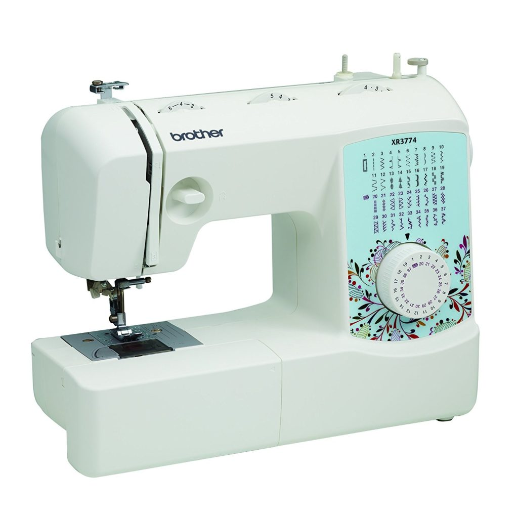 Brother XR3774 Full-Featured Sewing and Quilting Machine with 37 Stitches,